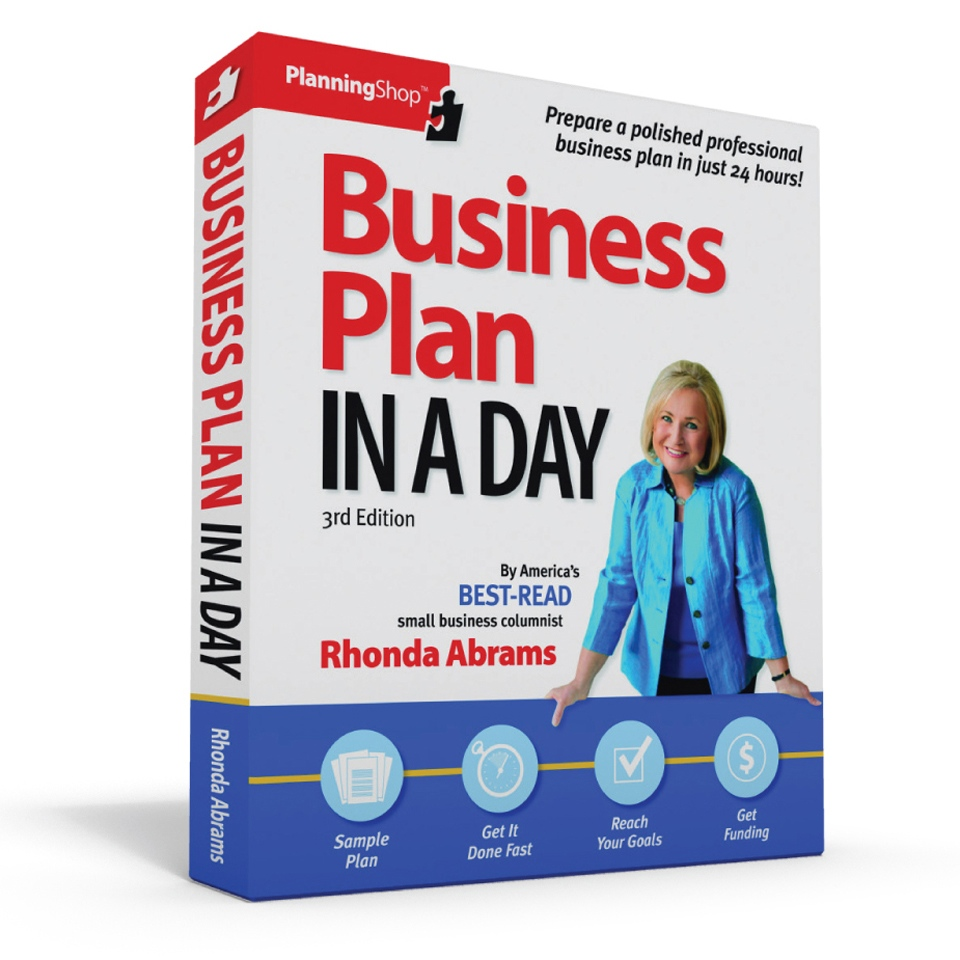 business plan in a day review