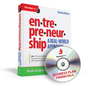Bundle Entrepreneurship: A Real World Approach and Business Plan Financials together for a complete guide to starting and running your business.
